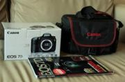 Canon EOS 7D Body 18.00 Megapixels  plus 18-135MM lens kits